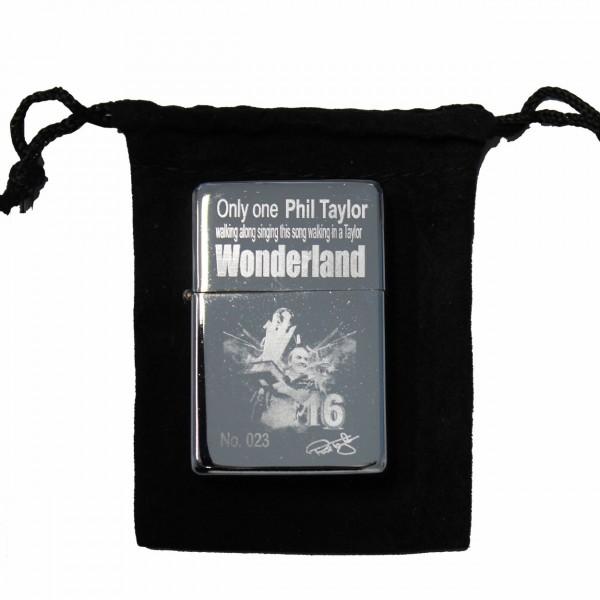Phil Taylor Sturmfeuerzeug Wonderland Edition 501