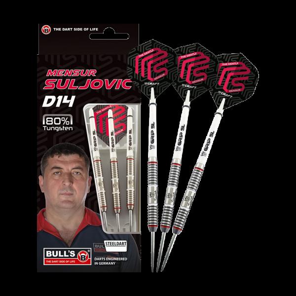 Bulls Mensur Suljovic D14 2019 Steeldarts