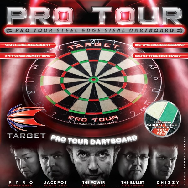 Target Pro Tour Dartboard - Version 2017