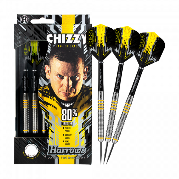 Harrows Dave Chisnall Chizzy 80 % Steeldarts
