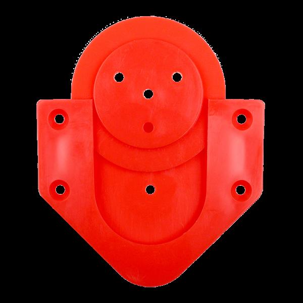 McDart Board Wandhalterung ScoFix Rot