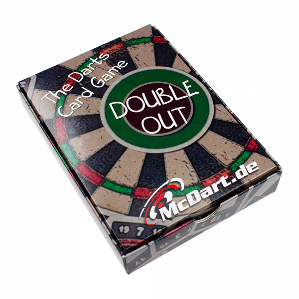 McDart Double Out Darts Card Game