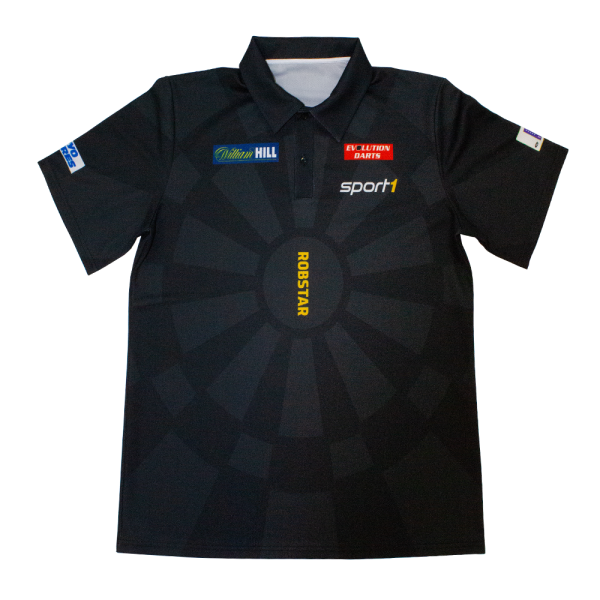 "Robert ""Robstar"" Marijanovic DARTS WM Shirt 2018/2019 - schwarz"