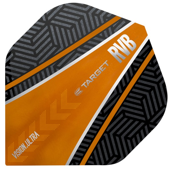 5 Satz Target RVB Vision Ultra Black-Orange Curve NO2 Flights