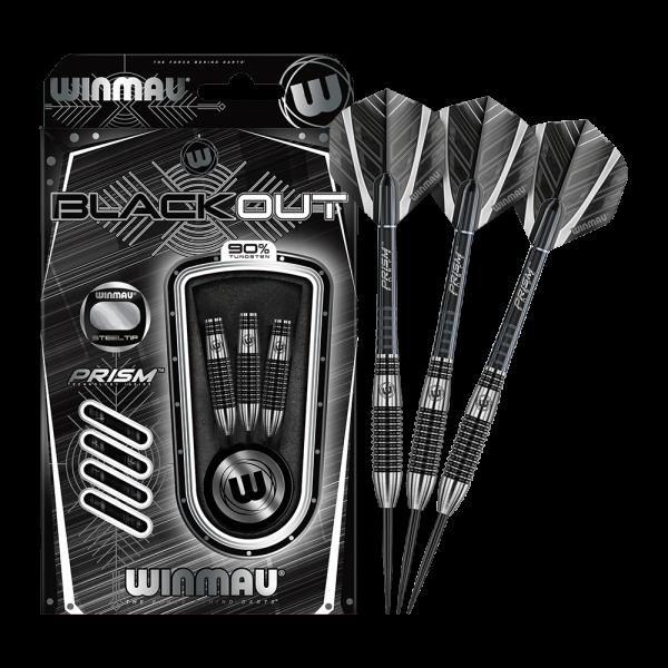 Winmau Blackout Variante 2 Steeldarts - 24g