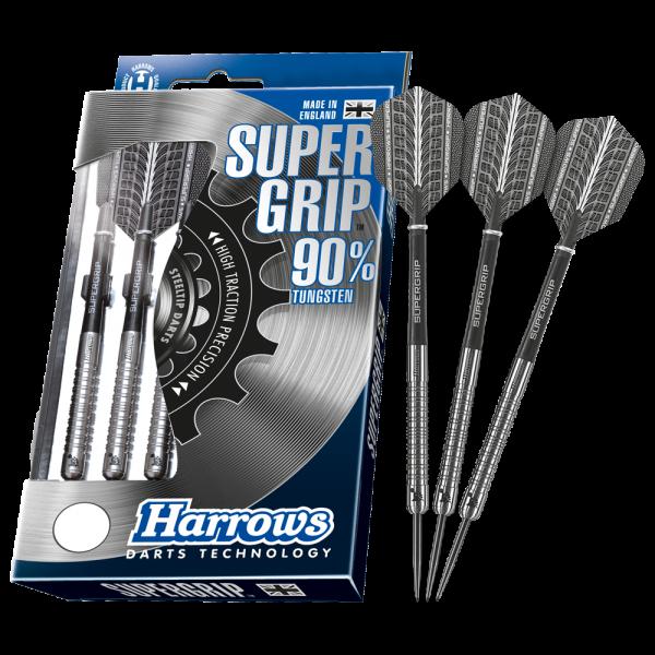 Harrows Supergrip 90% Tungsten Steeldarts - 25g