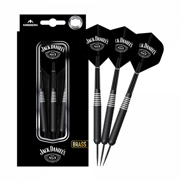 Mission Jack Daniels Brass Steeldarts