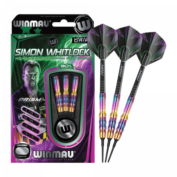 Winmau Simon Whitlock Urban Grip 2018 Softdarts - 18g