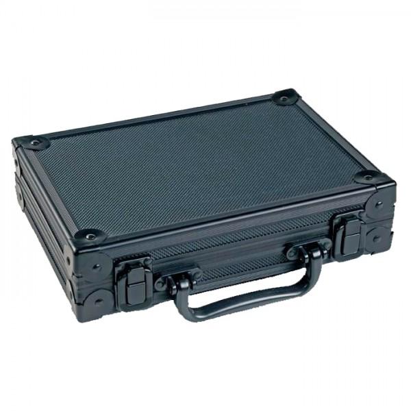 McDart Alukoffer schwarz mit 9 Steeldarts und Zubehör