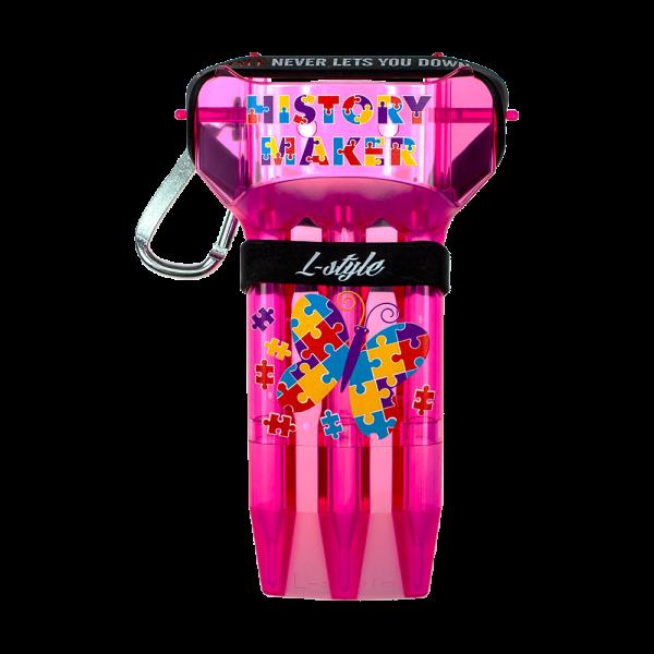 L-Style Krystal One Fallon Sherrock Signature Dartcase - Pink
