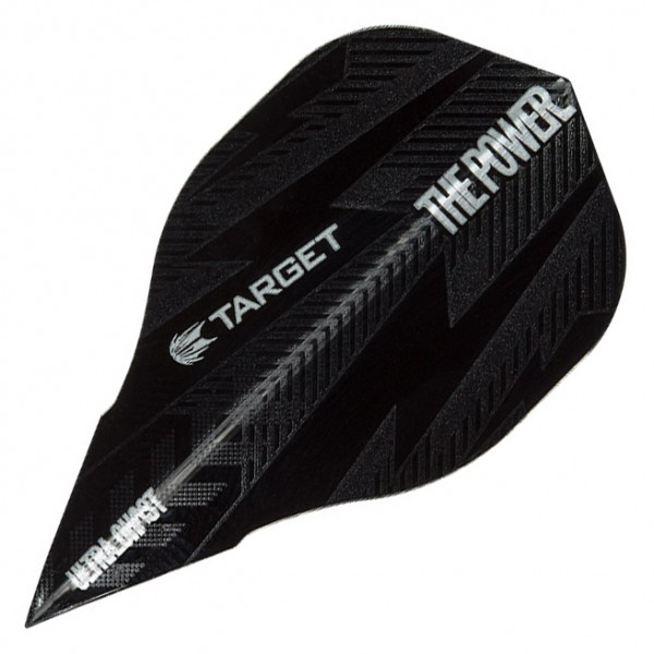 5 Satz Target Phil Taylor Ghost Power Bolt Black Edge Flights