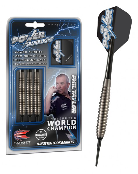 Target Phil Taylor Power Silverlight Softdarts