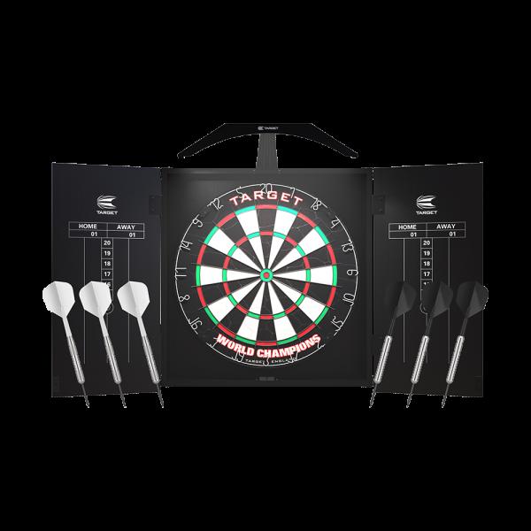 Target Arc Cabinet Set mit LED Beleuchtung